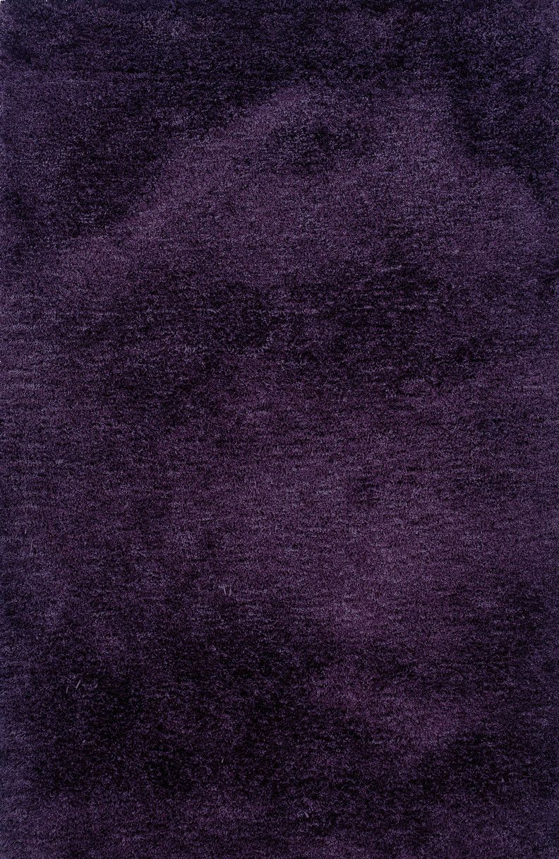 Luxe Hand-made Purple Area Rug