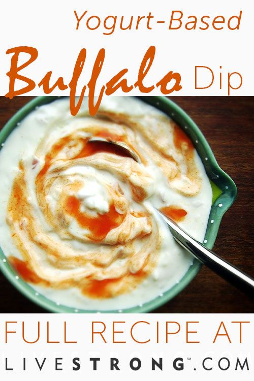This yogurt-based wild buffalo dip is on another level.
