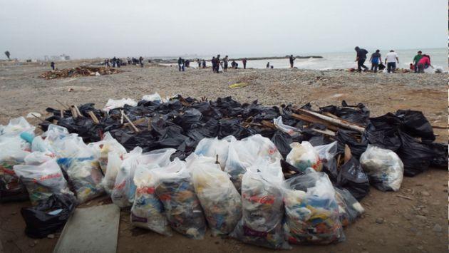 Callao: Recogen más de 20 toneladas de basura en la playa Carpayo