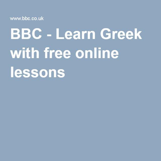 Learn Greek With Free Online Lessons Learn Greek Learning Italian Learn French