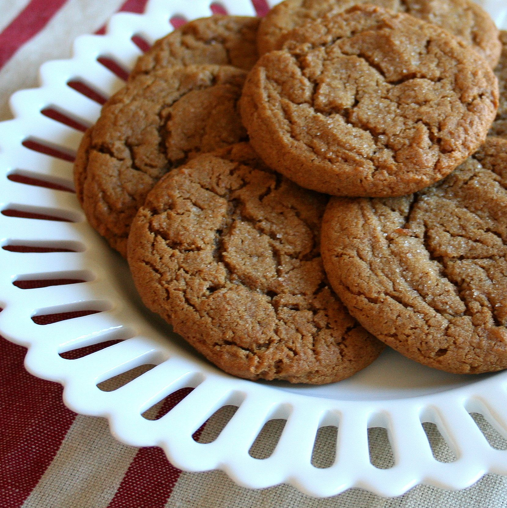 Soft And Chewy Ginger Nuts
