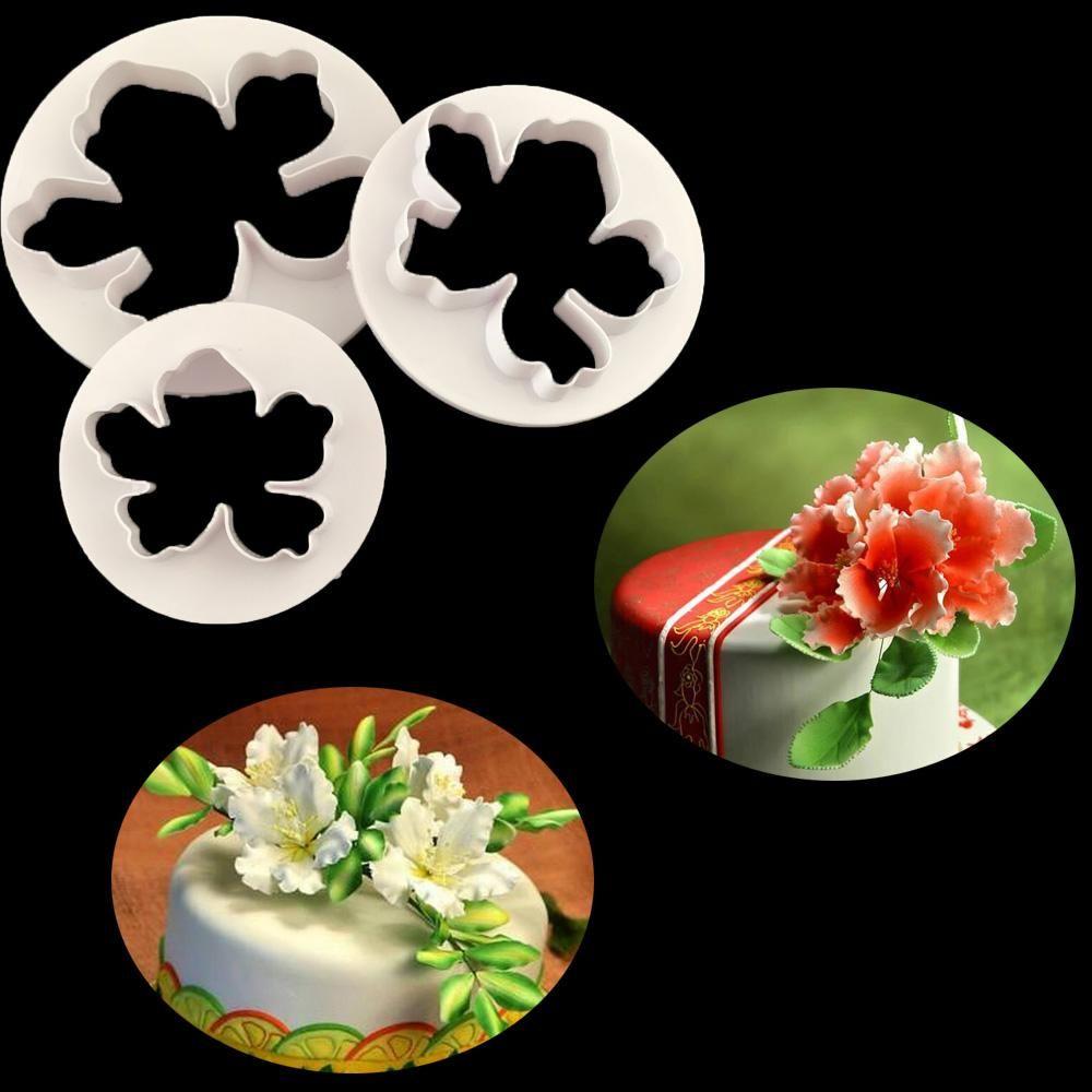3pcset Hawaii Flower Cookie Cutter Duck Baby Shape Food Grade