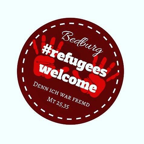 #refugeeswelcome #bedburg #50181 #DennIchWarFremd