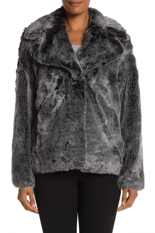 AVEC LES FILLES Plush Faux Fur Jacket (With images