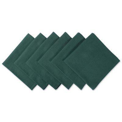 Winston Porter Scheffler 20 Cotton Napkin #darkgreenkitchen