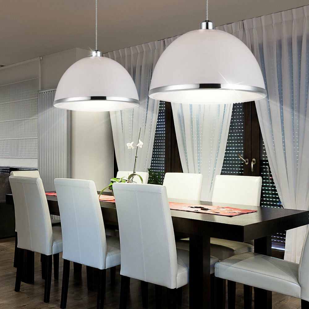 Decken Leuchte Pendel Hänge Lampe Küchen Ess Zimmer Retro Vintage Beleuchtung