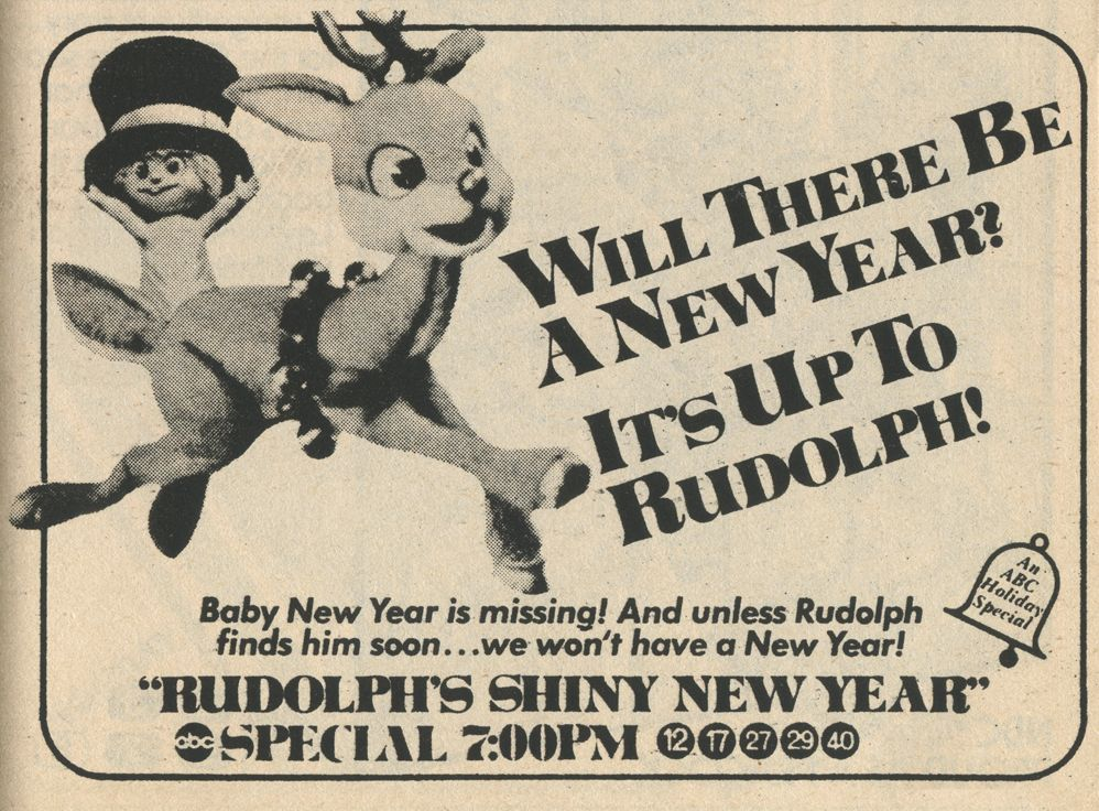 Will there be a New Year? It's up to Rudolph! (shared) in