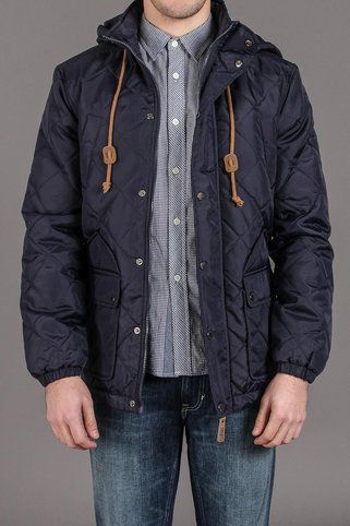 Hooded Quilted Jacket / by BellField