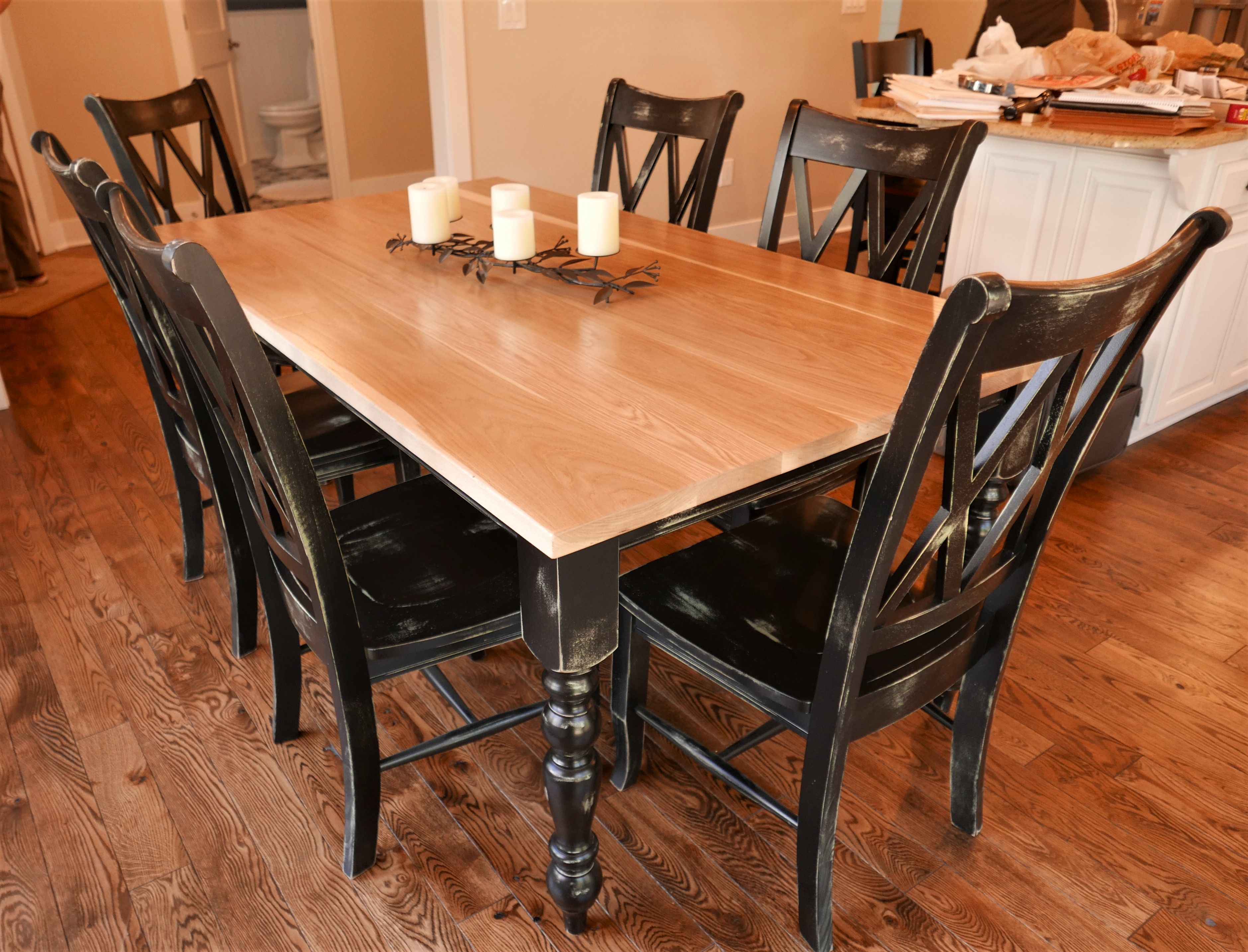 Farmhouse Charm Our Old English Dining Table Brings Warmth And