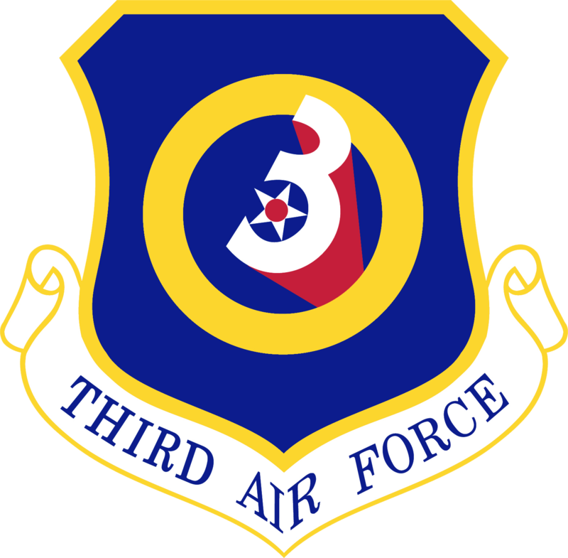 Third Air Force Emblem.png Us army patches, Air force