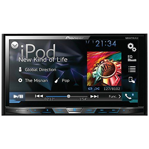 Pioneer AVHX5700BHS DoubleDIN DVD Receiver with 7Inch