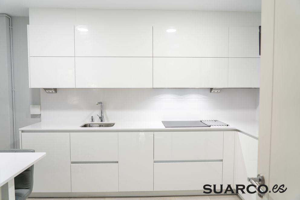 Frontal Cocina Parte Alta Muebles De Cocina Cocinas Blancas Modernas Cocinas Pequenas
