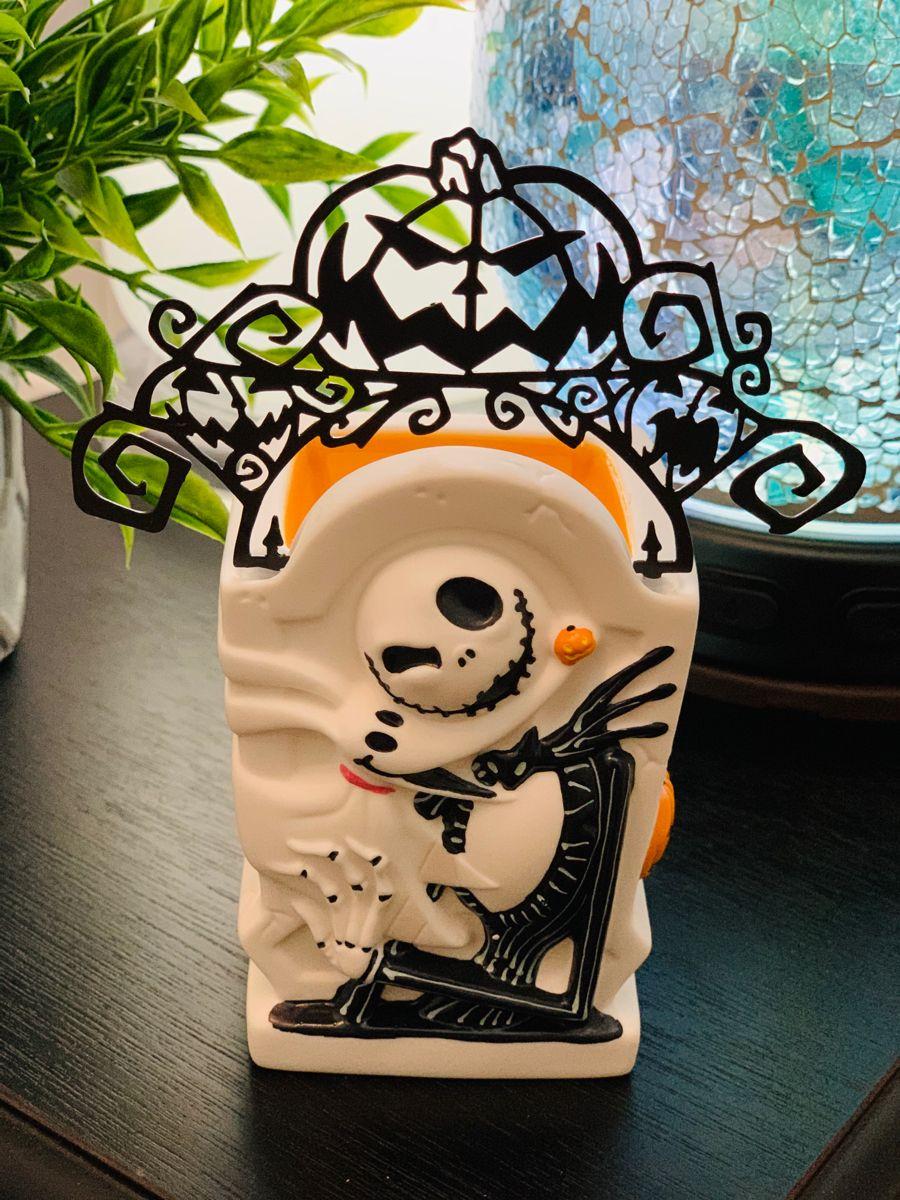 Jack Skellington Pumpkin King Scentsy Mini Warmer in