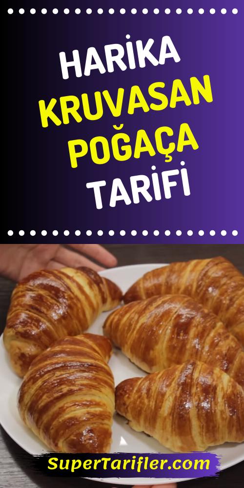 Photo of Kruvasan Poğaça Tarifi – (Katmer Poğaça)