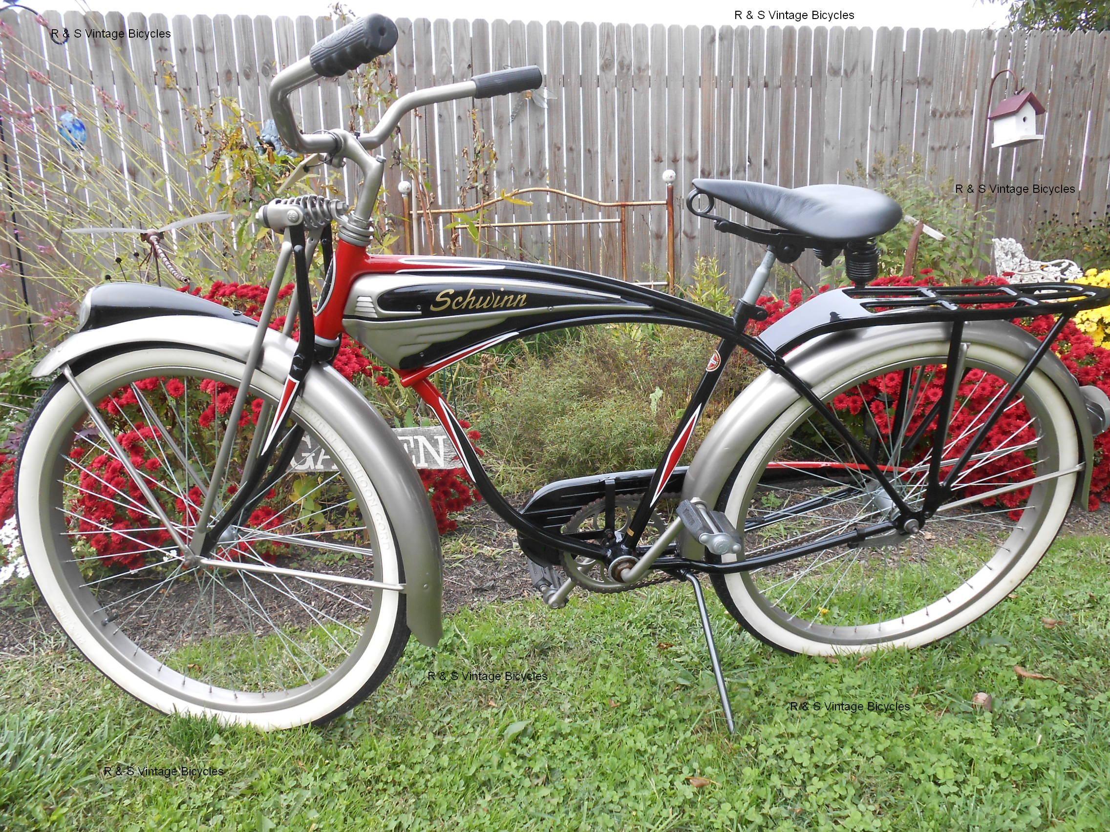 a40566f1ed7 1953 Schwinn Phantom. 1953 Schwinn Phantom Cruiser Bicycle, Old Bicycle, Old  Bikes ...