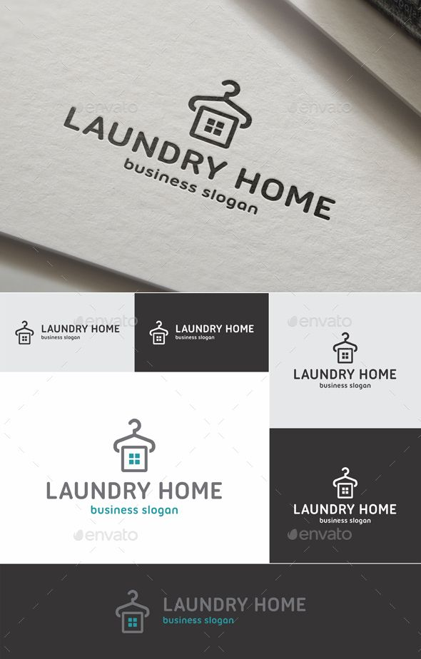 Laundry Home Logo | Pinterest | Logo templates, Laundry and Template