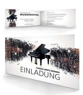 günstig bedruckte einladungskarten von www.onlineprintxxl