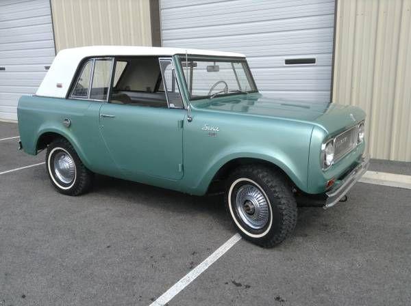 1967 International Scout Sportop | Classic chevy trucks ...