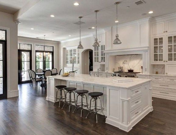 Stunning Luxury White Kitchen Design Ideas 27 White Kitchen Design White Modern Kitchen Luxury Kitchens