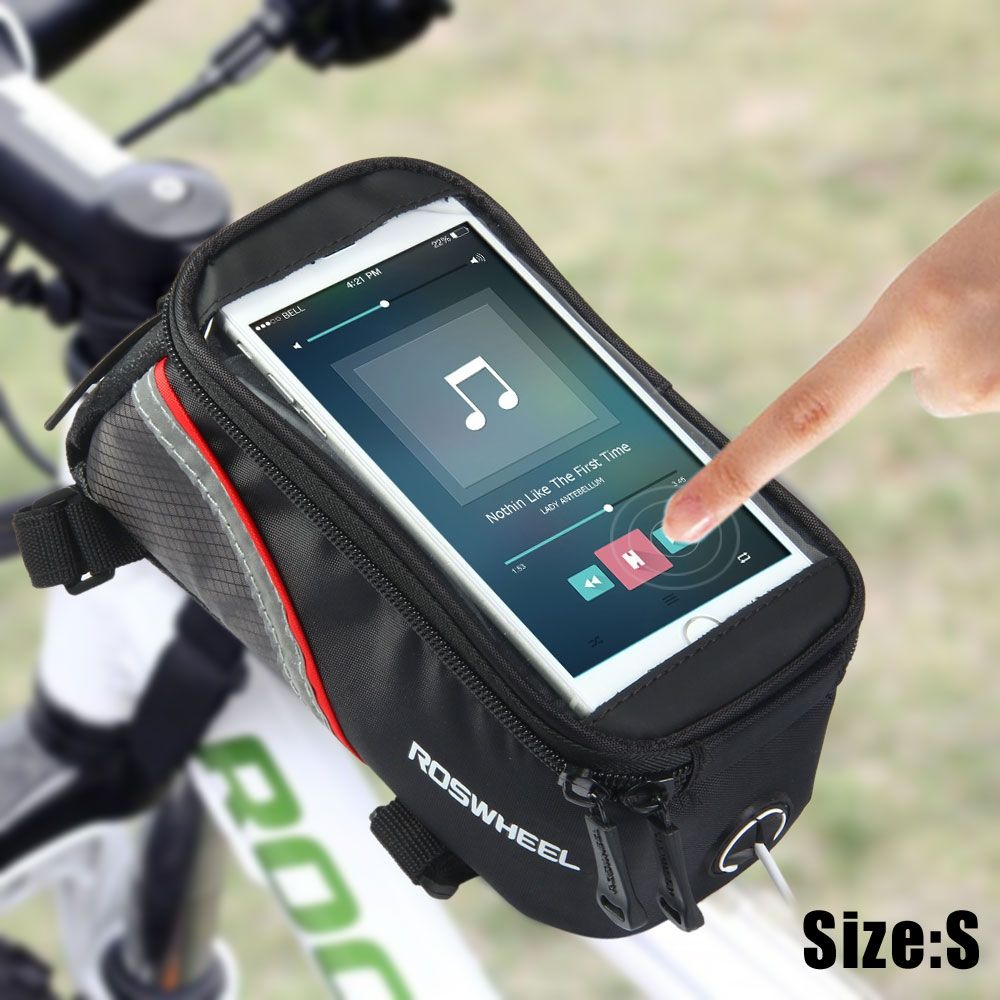 new Waterproof Cycling Bicycle Bike Handlebar Bag With Phone Touch Screen Window
