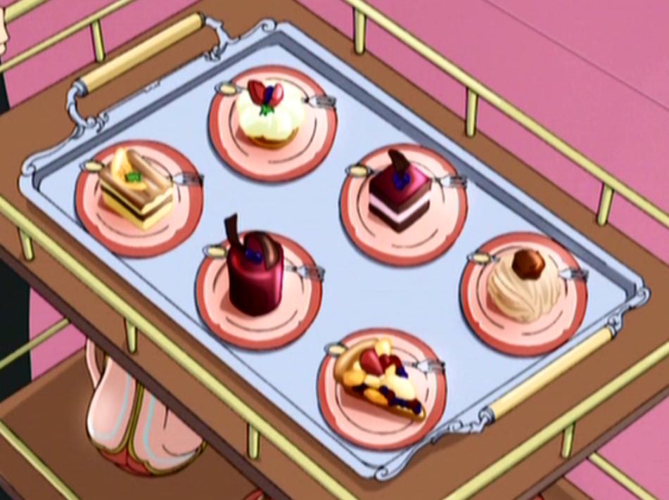 """See what I made? Best chef around.""-Becca ""Sabrina. Sabrina made that.""-Rinny ""Yes she did.""-Mu Ren"