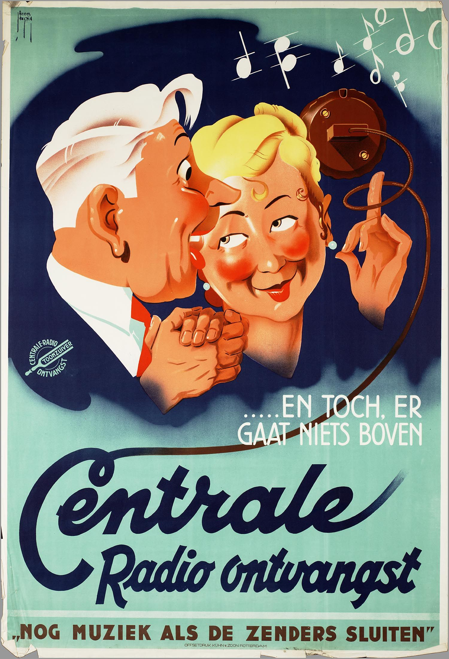 Vintage Posters, Radios, Dutch, Advertising, Safety, Poster Vintage, Security Guard,