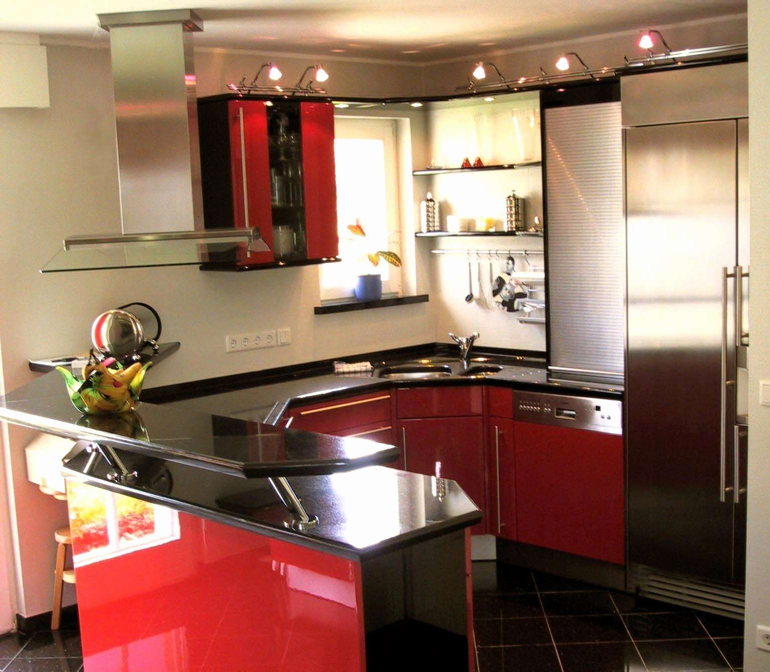 50 Best Of Red Gloss Kitchen Cabinets Graphics Gloss Kitchen Cabinets Kitchen Kitchen Design