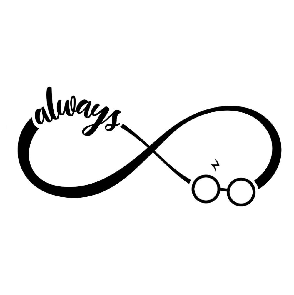 Always Svg Harry Potter Svg Infinity Svg Infinity Symbol Always Ha Mamylab Harry Potter Symbols Harry Potter Silhouette Always Harry Potter