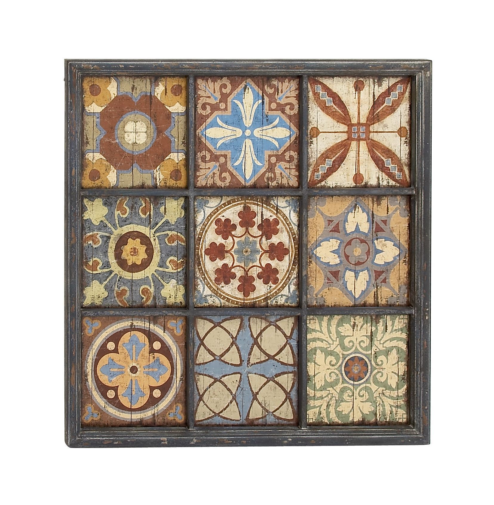 Tile Plaques Home Decor Elegant And Vibrant Wood Wall Plaque  Products  Pinterest  Products