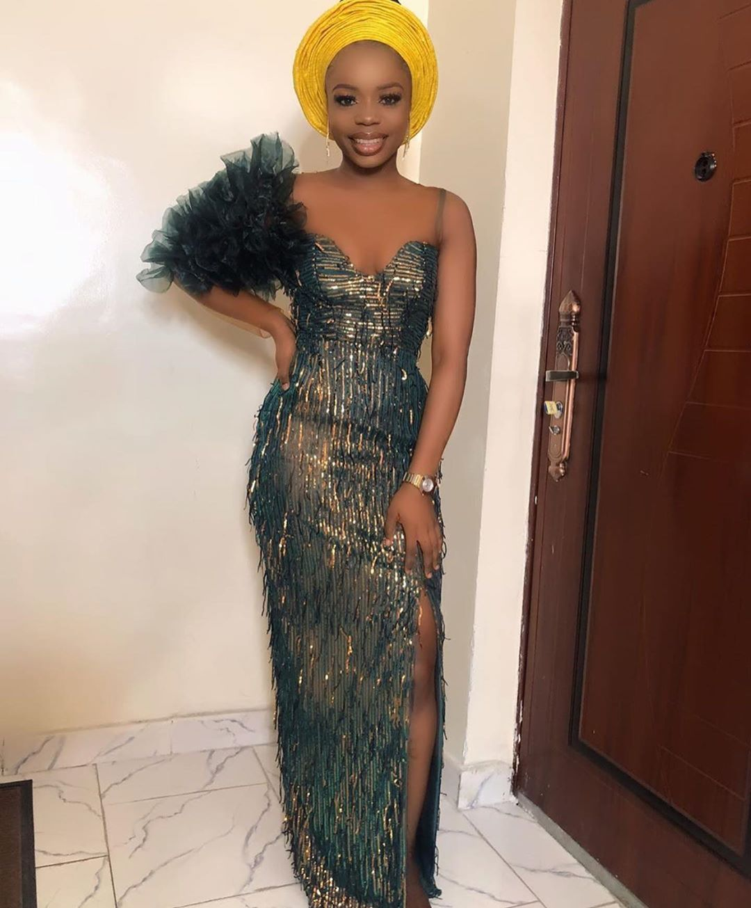 Asoebi Styles On Instagram Dripping Kemzyp29 Latest African Fashion Dresses African Lace Dresses Lace Fashion