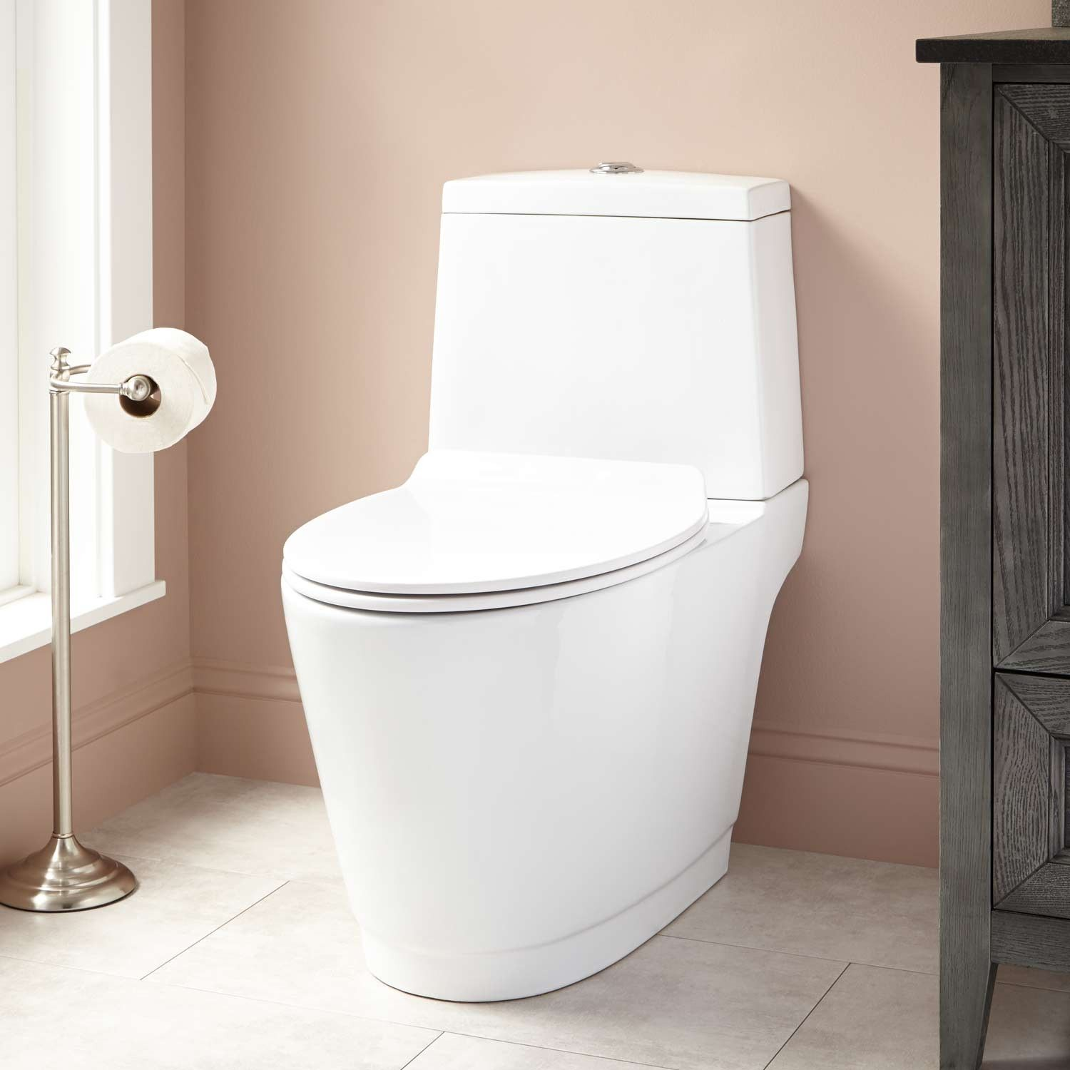 Kenos Dual-Flush Two-Piece Siphonic Toilet - Toilets and Bidets ...