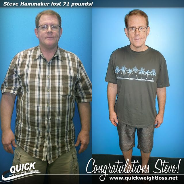 """Congratulations to Steve Hammaker from Royal Palm Beach, Florida for losing 71 pounds on the Quick Weight Loss Centers program!   """"I was surprised how simple the Quick Weight Loss process was. I liked the structure and guidance. Now that I have reached my goal, people ask me, 'where's the rest of you?' You can do it too!"""" -Steve.   Read his Quick Weight Loss success story: http://quickweightloss.net/testimonials?id=71.hammaker  #qwlc #weightloss"""