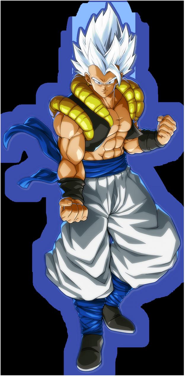 Dbs Gogeta Fighterz Portrait But He S In Mui Ver2 By Blackflim On Deviantart Anime Dragon Ball Super Dragon Ball Super Manga Dragon Ball Art