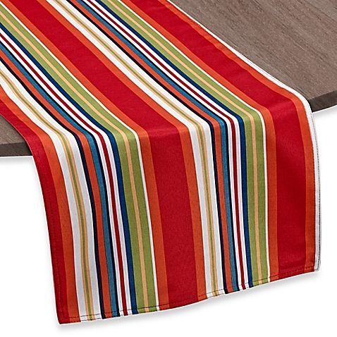 The Bright, Fun Mystic Stripe Table Runner Makes The Perfect, Colorful  Accessory To Your Table Setting. Table Runner Is Reversible, Spill And  Stain ...