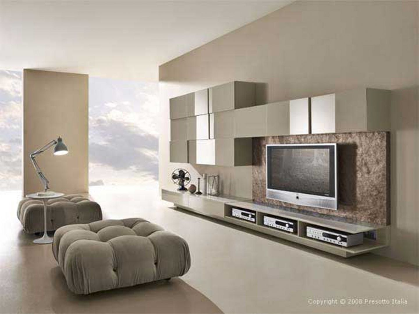 Mirror Wall Mount Tv Cabinet Http Drrw Us Pinterest  # Meuble Tv Moderne Design