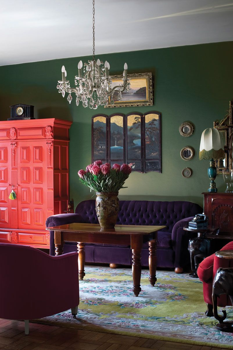 Purple And Green Living Room Astrid Van Der Heim South Africa Paint Selections Are Plascon