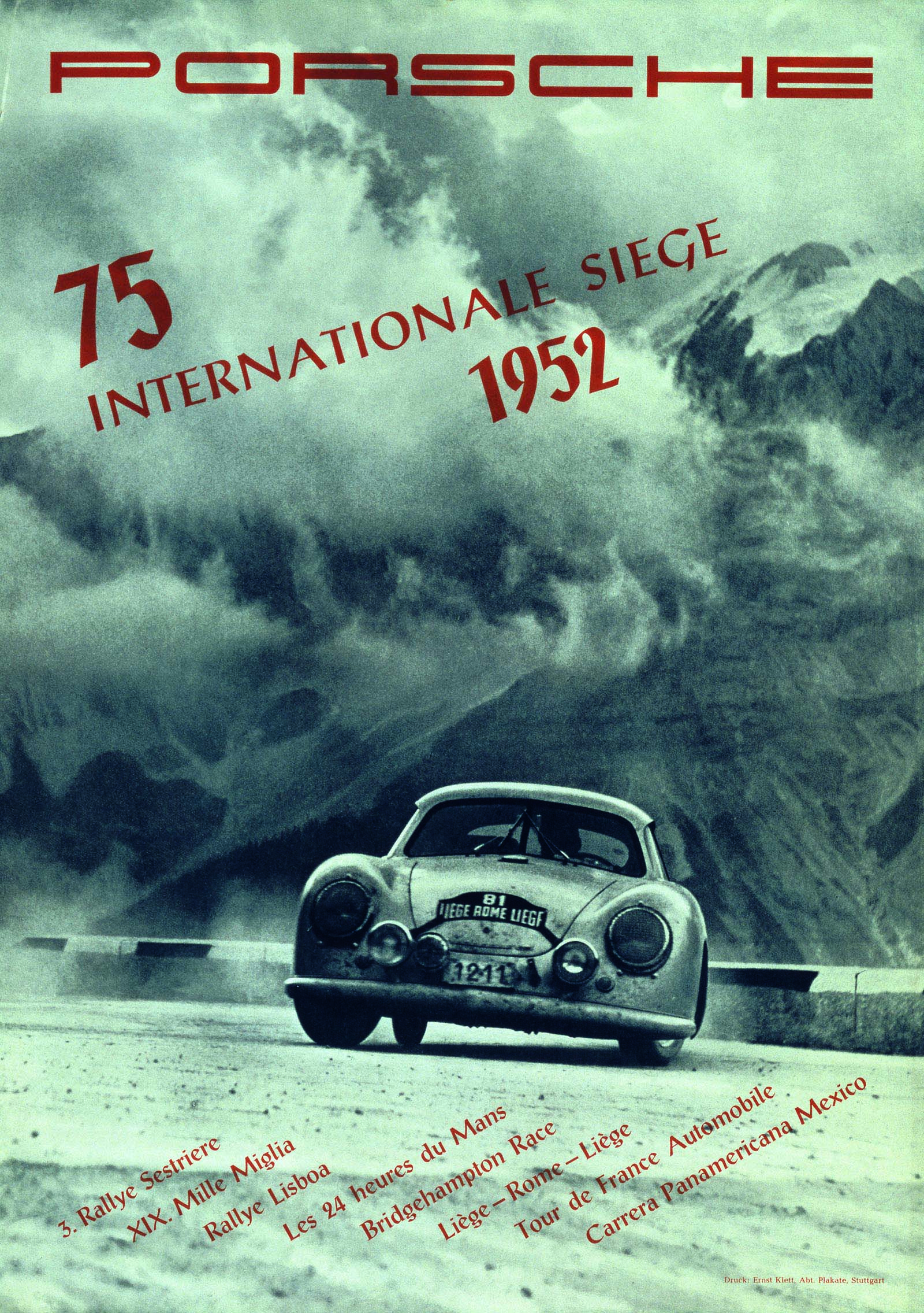 Porsche Racing Posters News, Videos, Reviews and Gossip | Vintage ...