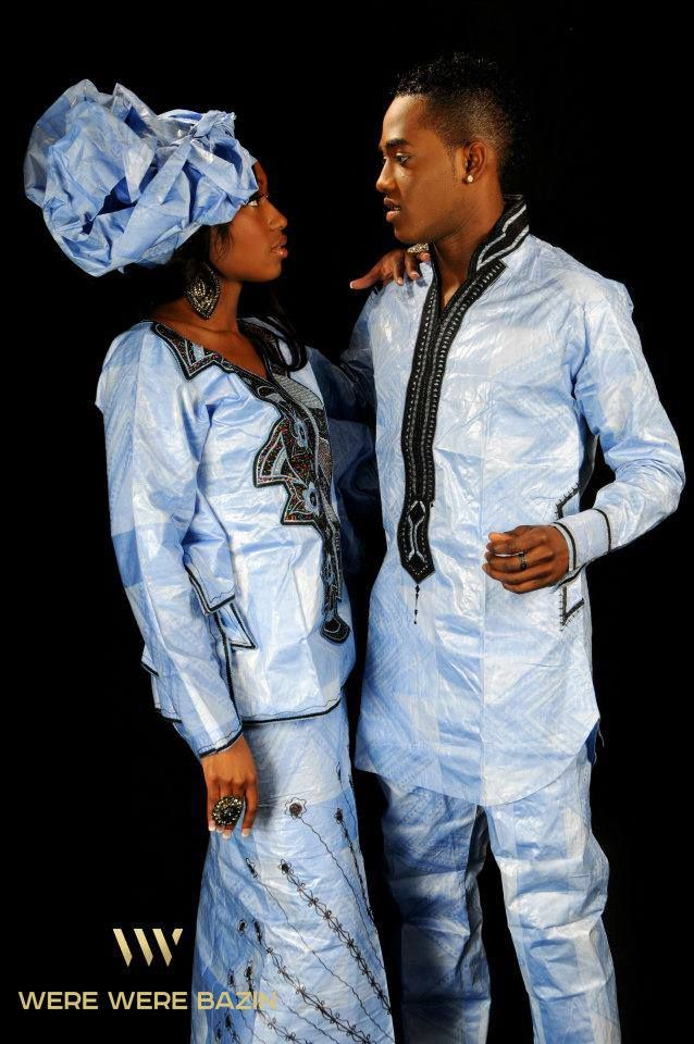 Such A Lovely Couple Wearing West African Traditional