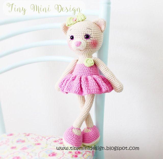Amigurumi Kedi Yapılışı-Tiny Mini Desgn | Crochet | Pinterest ...