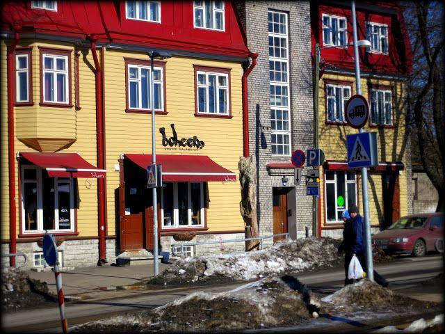 ANNINA IN TALLINNA: Kohvik Boheem