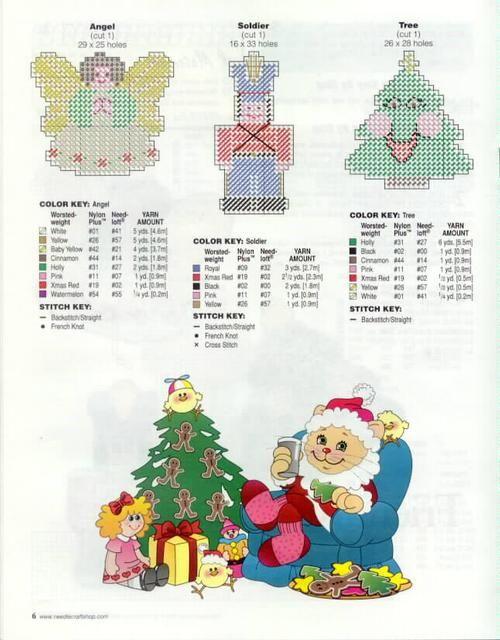 Christmas Cheer Ornaments TNS 5/10