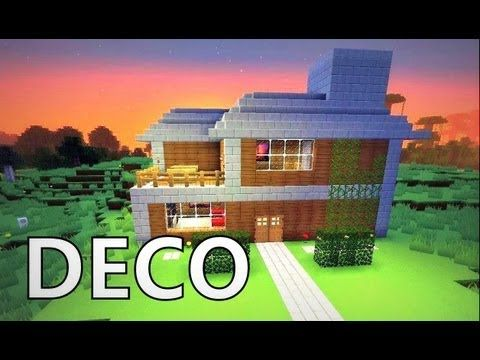 Minecraft Comment Creer Un Beau Salon Youtube Minecraft