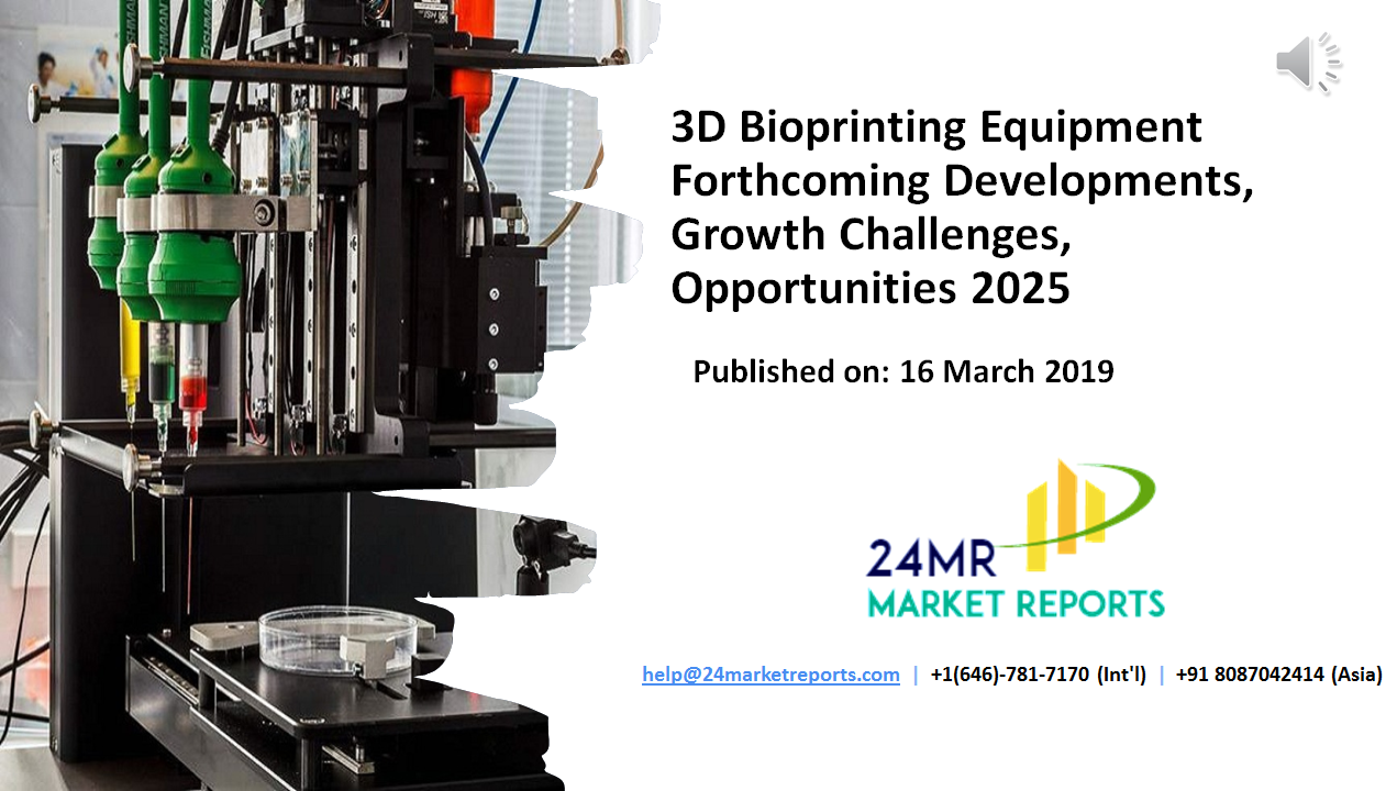 3D Bioprinting Equipment Market is an essential reference
