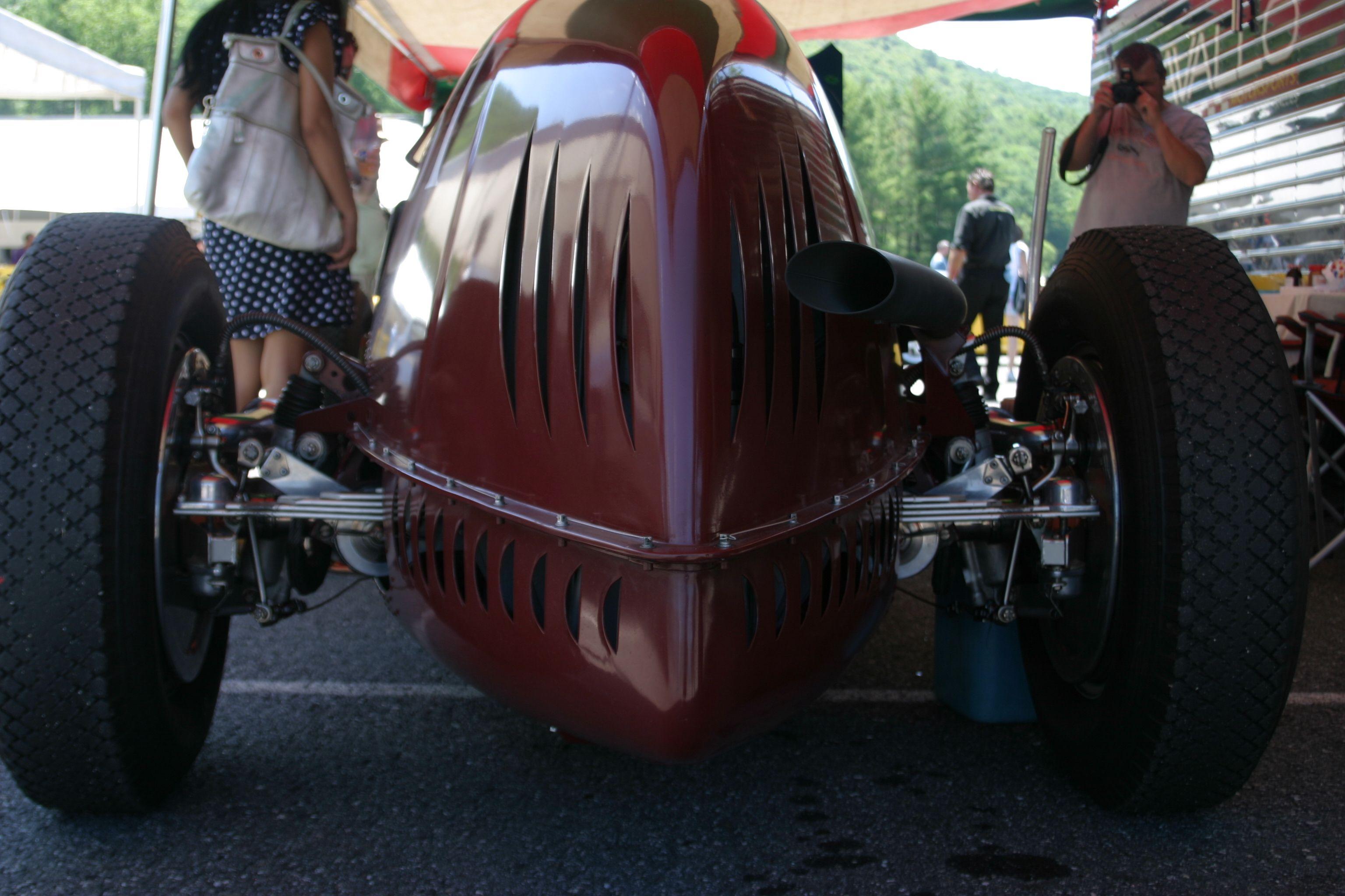 1931 Alfa Romeo Tipo B P3, Rear -- Openbay.com