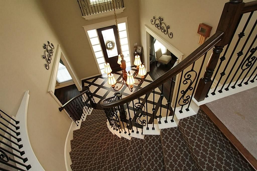 Best Patterned Carpet On Stairs With Wood Bullnose Gorgeous 400 x 300