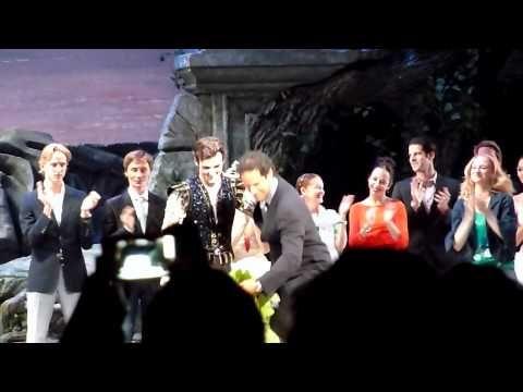 2012-06-28 ABT curtain call - Angel Corella farewell!! so sad =(