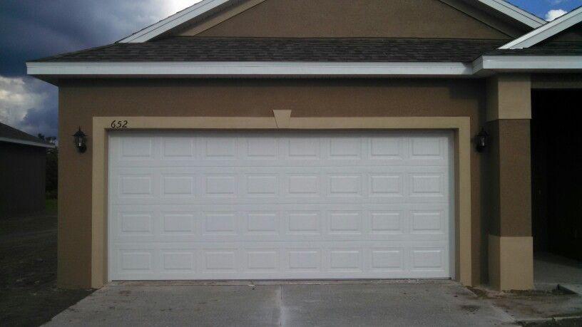 Look To Overhead Door Company Of Tampa Bay For Consistent Quality Every Time Like This Double Garage Door In The H Overhead Door Residential Doors Garage Doors