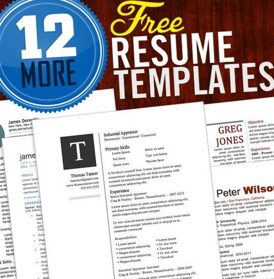 free resume template organization Pinterest Free resume, Job - template for resume word
