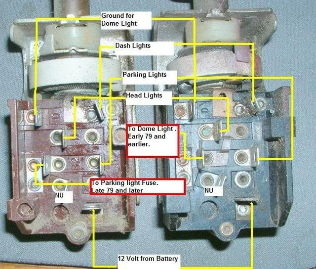 Yj Headlight Switch Wiring Diagram - Example Electrical Wiring Diagram •