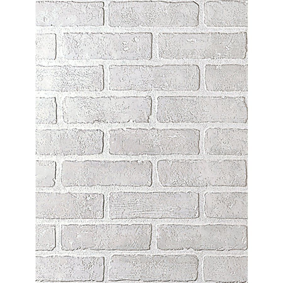 Fashionwall 1 4 In X 4 Ft X 8 Ft White Wall Panel Lowe S Canada 4x8 Wall Paneling White Wall Paneling Faux Brick Panels